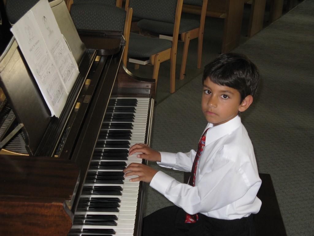 Piano Recital, Camp Alexandra, and Garden 2009 287