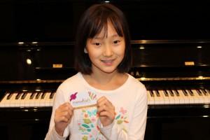 Contest winner at Ocean Park Piano, South Surrey